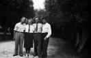 Od lewej Wojciech, Antonina i Antoni Batorowie oraz Franciszek Sowa.