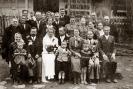 Ślub Antoniny i Antoniego Batorów - Błażowa 25.04.1942 r.