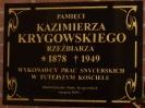 POŚWIĘCENIE TABLICY PAMIĄTKOWEJ KAZIMIERZA KRYGOWSKIEGO (3)