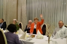 Spotkanie organizatorów obchodów i świadków historii w Rzeszowie. Pośrodku Lucia Retman ocała  z Holokaustu